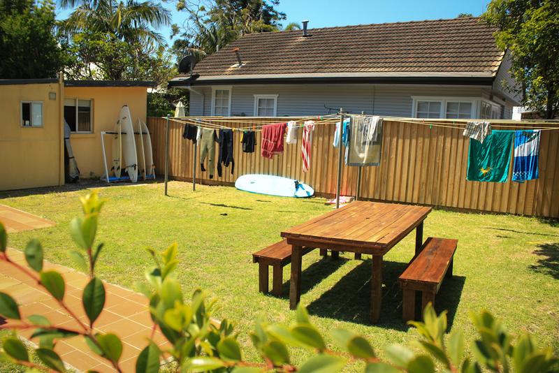 Sprachaufenthalt Australien, Sydney - Lexis Sydney Manly - Accommodation - Bunkhouse - Garten