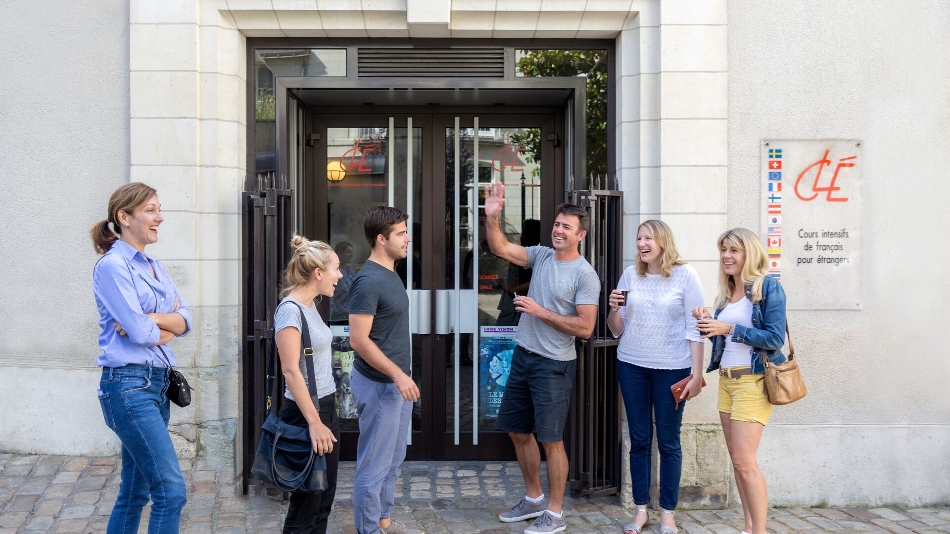 Sprachaufenthalt Sprachreise Französisch Frankreich in Tours CLE