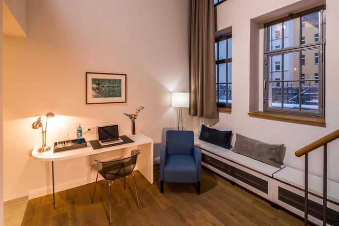 Sprachaufenthalt Deutschland, Berlin - GLS Sprachenzentrum Berlin - Accommodation - Hotel Oderberger - Wohnzimmer