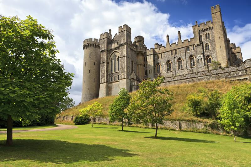 sprachaufenthalt england worthing arundel castle