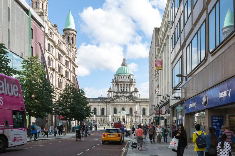 Séjour linguistique Angleterre, Belfast - Ville