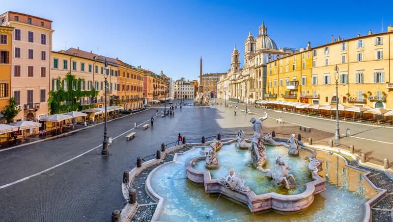 Sprachaufenthalt Italien, Rom - Piazza Navona