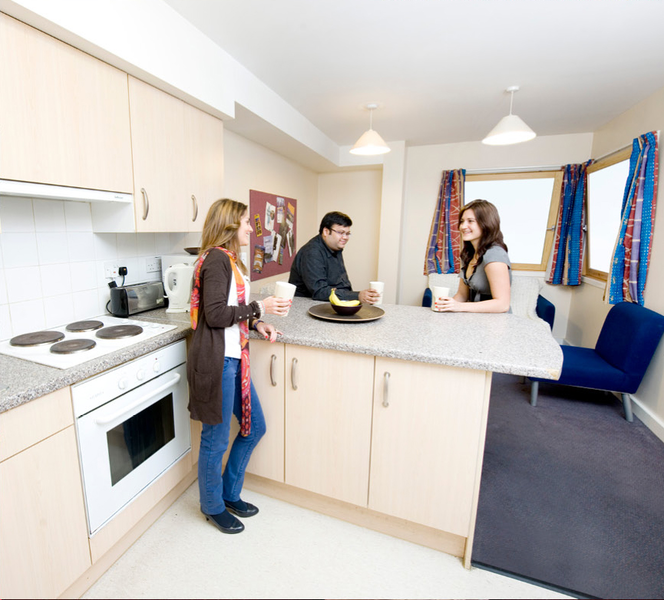 Sprachaufenthalt England, London - Stafford House London - Accommodation - Piccadilly - Küche