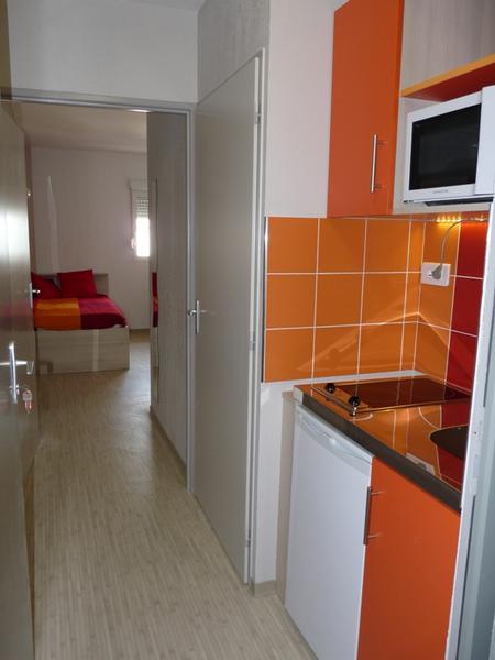 Sprachaufenthalt Frankreich, Montpellier - Institut Linguistique Adenet Montpellier - Accommodation - Student Residenz - Küche