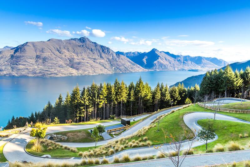 Séjour linguistique Nouvelle Zélande, Queenstown - Piste de karting