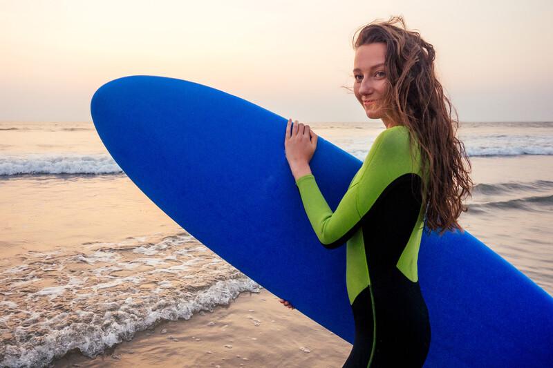 Sprachaufenthalt Spanien, Málaga - Surfen