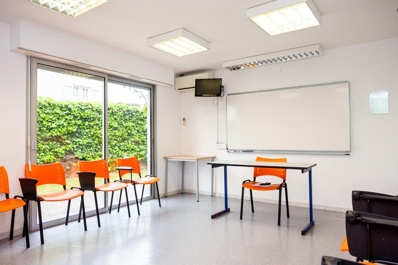 Séjour linguistique France, Antibes - Centre International d'Antibes - Salle de classe