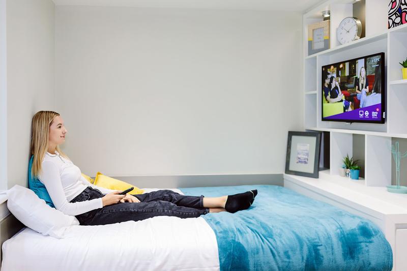 Sprachaufenthalt England, London - EC - Accommodation - Drapery Plaza Residence - Schlafzimmer
