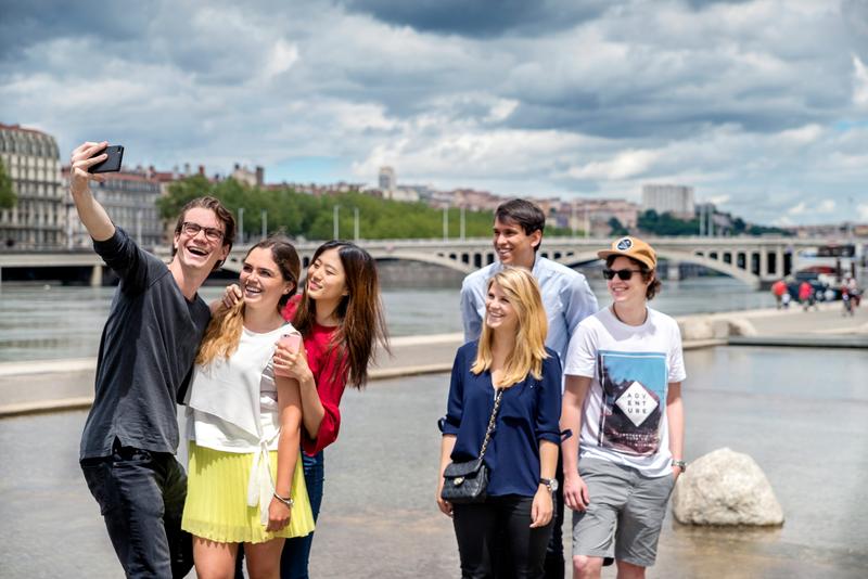 Séjour linguistique France, Lyon - Étudiants