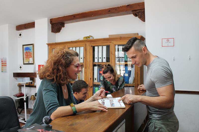 Séjour linguistique Espagne, Granada - Castila Granada - Réception