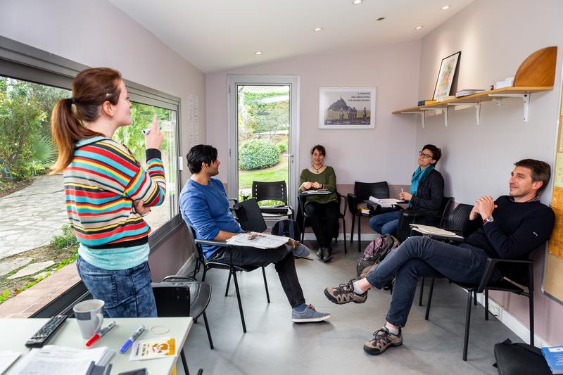 Séjour linguistique France, Antibes - Centre International d'Antibes - Leçon