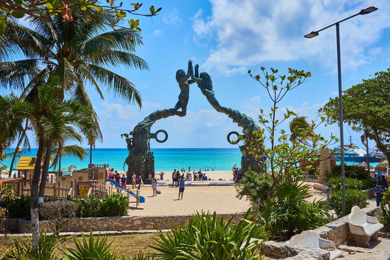 Séjour linguistique Mexico, Playa del carmen - Mermaid Statue