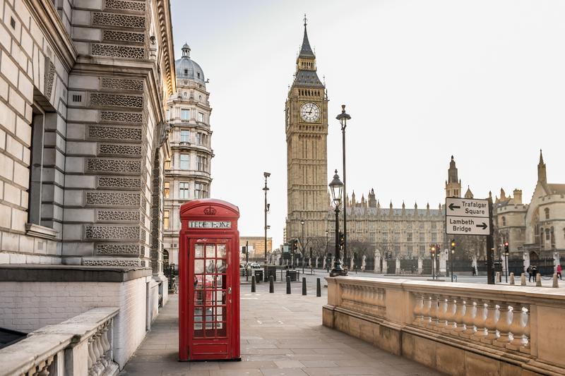 Sprachaufenthalt England, London - Big Ben