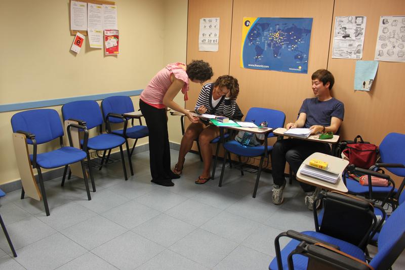 Séjour linguistique Espagne, Lacunza - Lacunza International House - Leçon
