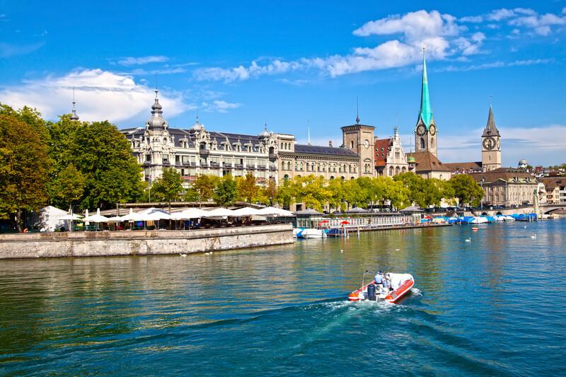 Séjour linguistique Suisse, Zurich - Limmat
