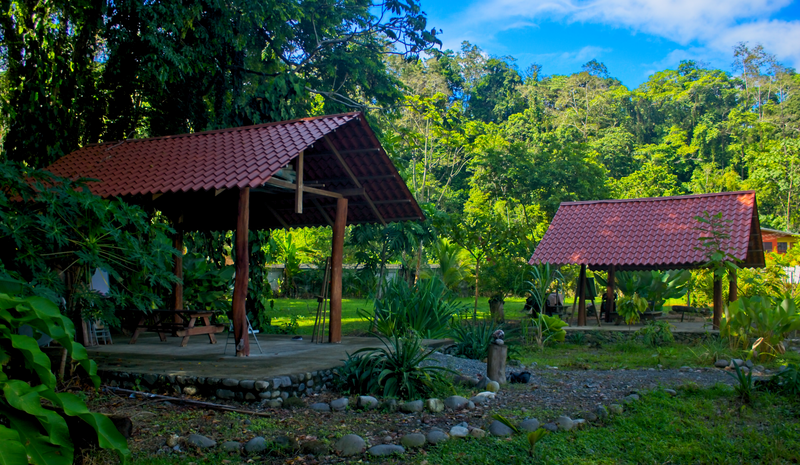 Sprachaufenthalt Costa Rica - Puerto Viejo de Talamanca -  Spanish by the Sea Puerto Viejo - Garten