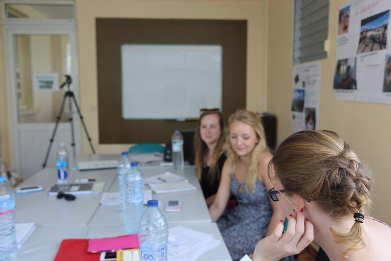 Sprachaufenthalt Guadeloupe, Le Gosier - Inter Media Langues Caraibes - Lektionen