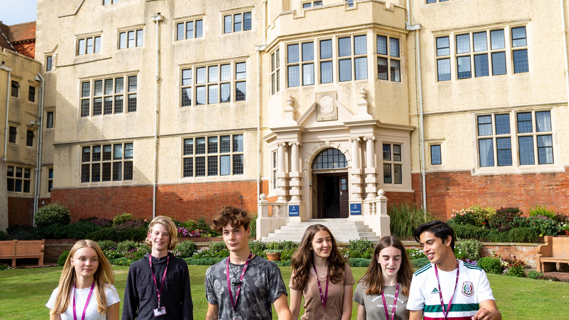 Sprachaufenthalt England, Brighton - EC Brighton Young Learners - Studenten