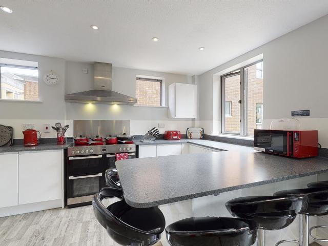 Sprachaufenthalt England, Cambridge - EC Cambridge - Accommodation - Apartment Tripos Court - Küche