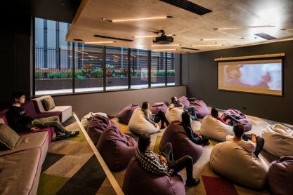 Sprachaufenthalt Australien, Brisbane - Langports Brisbane - Accommodation - Apartment Student One - Aufenthaltsraum