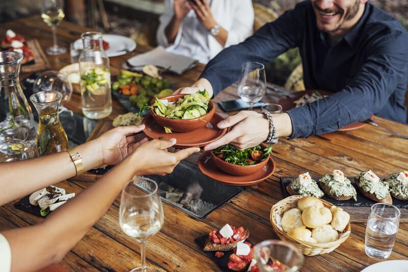 Sprachaufenthalt Spanien, Granada -  Vegetarisches Restaurant Cañadú