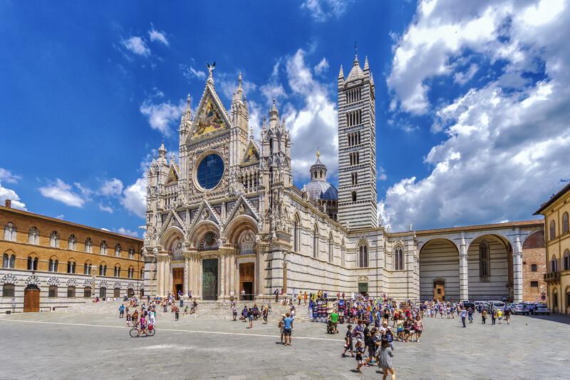 Sprachaufenthalt Italien, Siena - Dom
