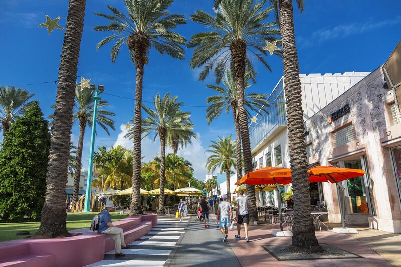 Sprachaufenthalt USA, Miami - Promenade
