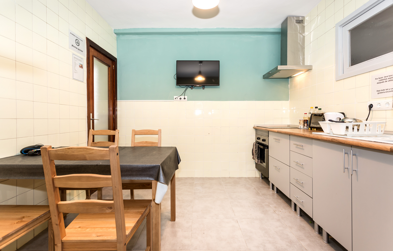 Sprachaufenthalt Spanien, Ibiza - Instituto de Idiomas Ibiza - Accommodation - Apartment - Küche