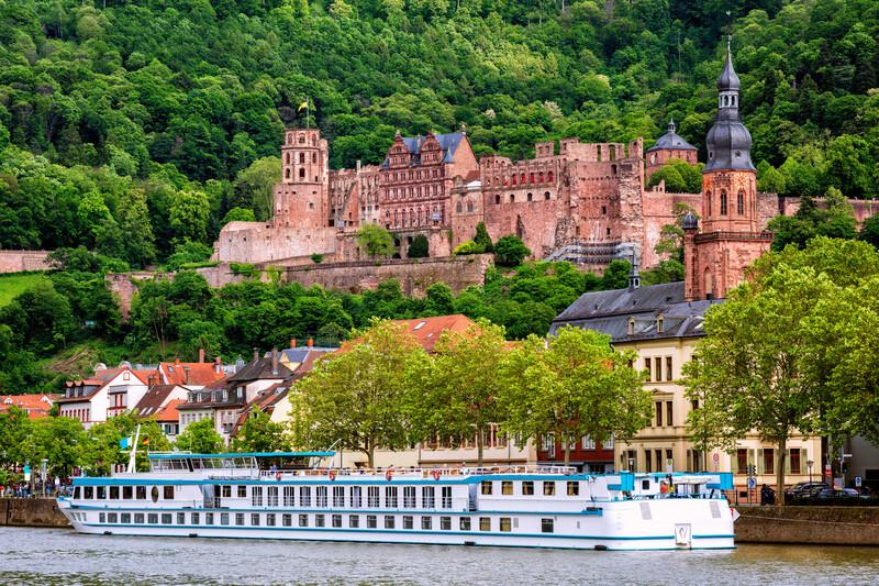 Sprachaufenthalt Deutschland, Heidelberg - Schloss Heidelberg
