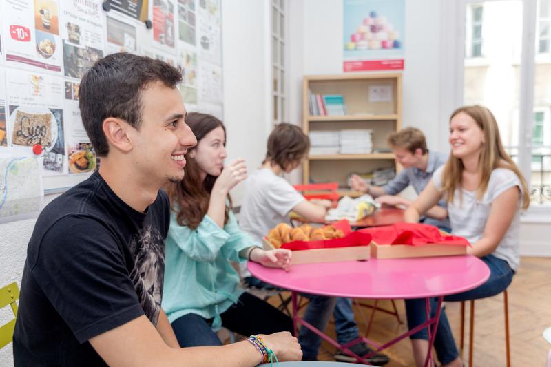 Séjour linguistique France, Lyon - Alpadia Language School Lyon - Étudiants