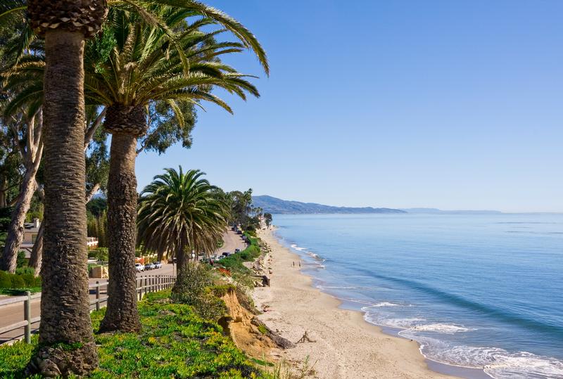 Séjour linguistique États-Unis, Santa Barbara - Plage