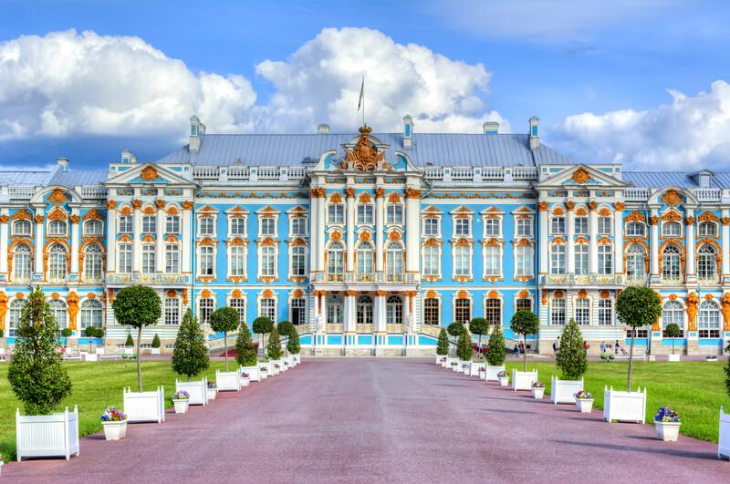 Sprachaufenthalt Russland, St Petersburg - Katharinenpalast