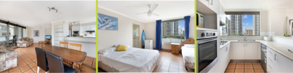 Sprachaufenthalt Australien, Gold Coast - Langports Gold Coast - Accommodation - Student Apartment Top of the Mark - Zimmer