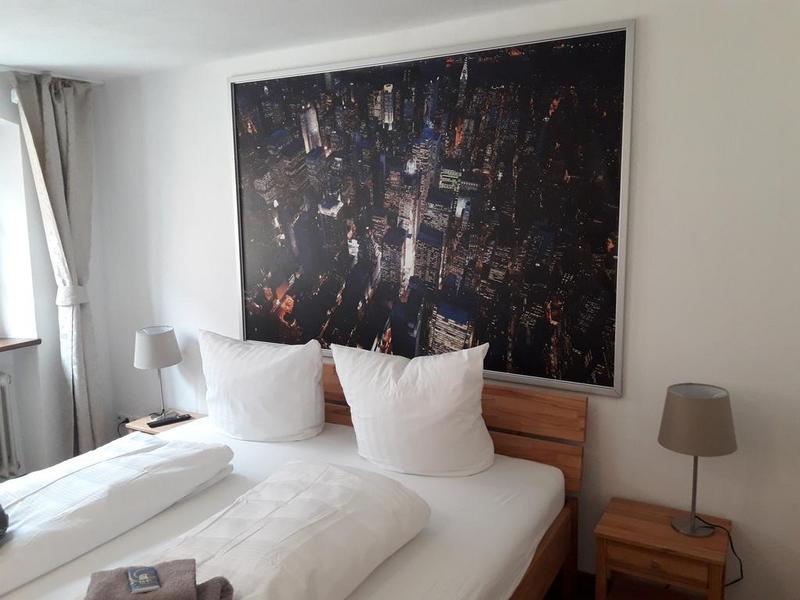 Sprachaufenthalt Deutschland, Lindau im Bodensee - Dialoge Lindau - Accommodation - Apartment Seenest - Schlafzimmer