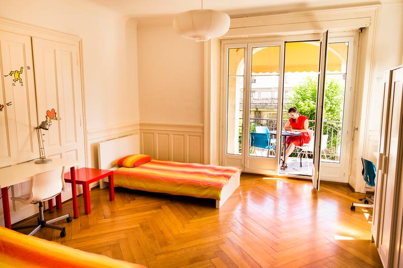 Sprachaufenthalt Schweiz, Montreux - Alpadia Language School Montreux - Accommodation - Riviera - Doppelzimmer