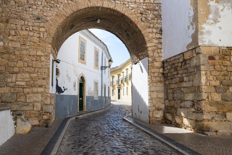 Sprachaufenthalt Portugal, Faro - Altstadt