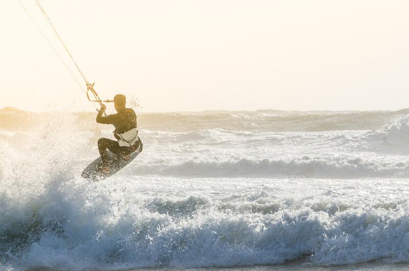 Sprachaufenthalt Südafrika, Capetown - Kitesurfen