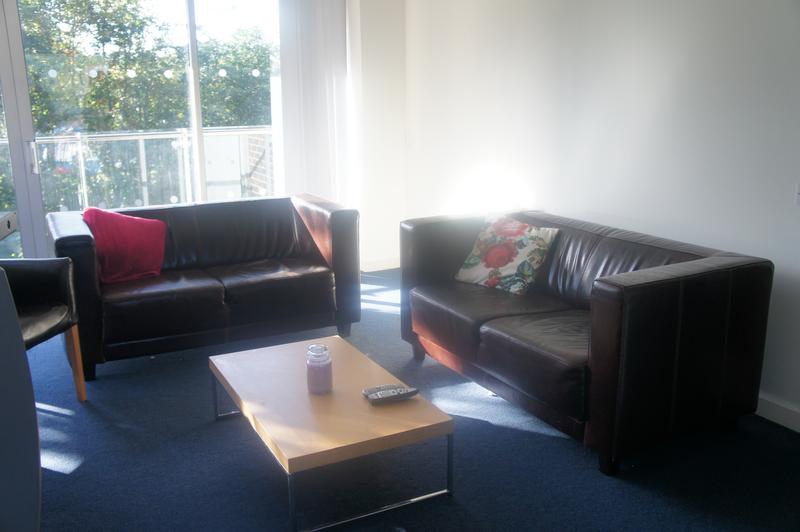 Sprachaufenthalt Irland, Cork - ACET - Accommodation - Apartment - Victoria Mills - Wohnzimmer