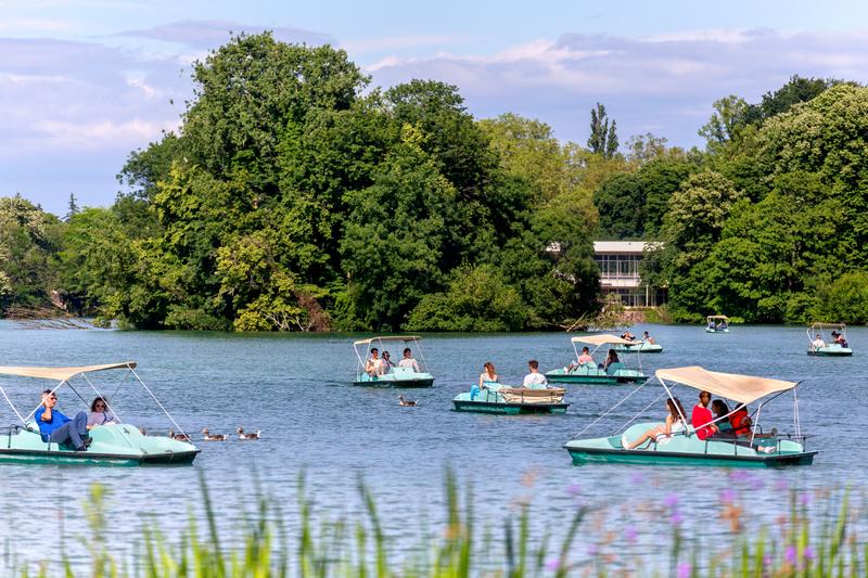 Sprachaufenthalt Frankreich, Lyon - Park