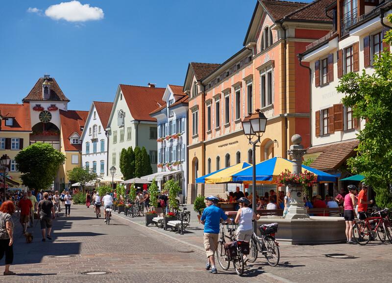 Sprachaufenthalt Deutschland, Meersburg - Altstadt