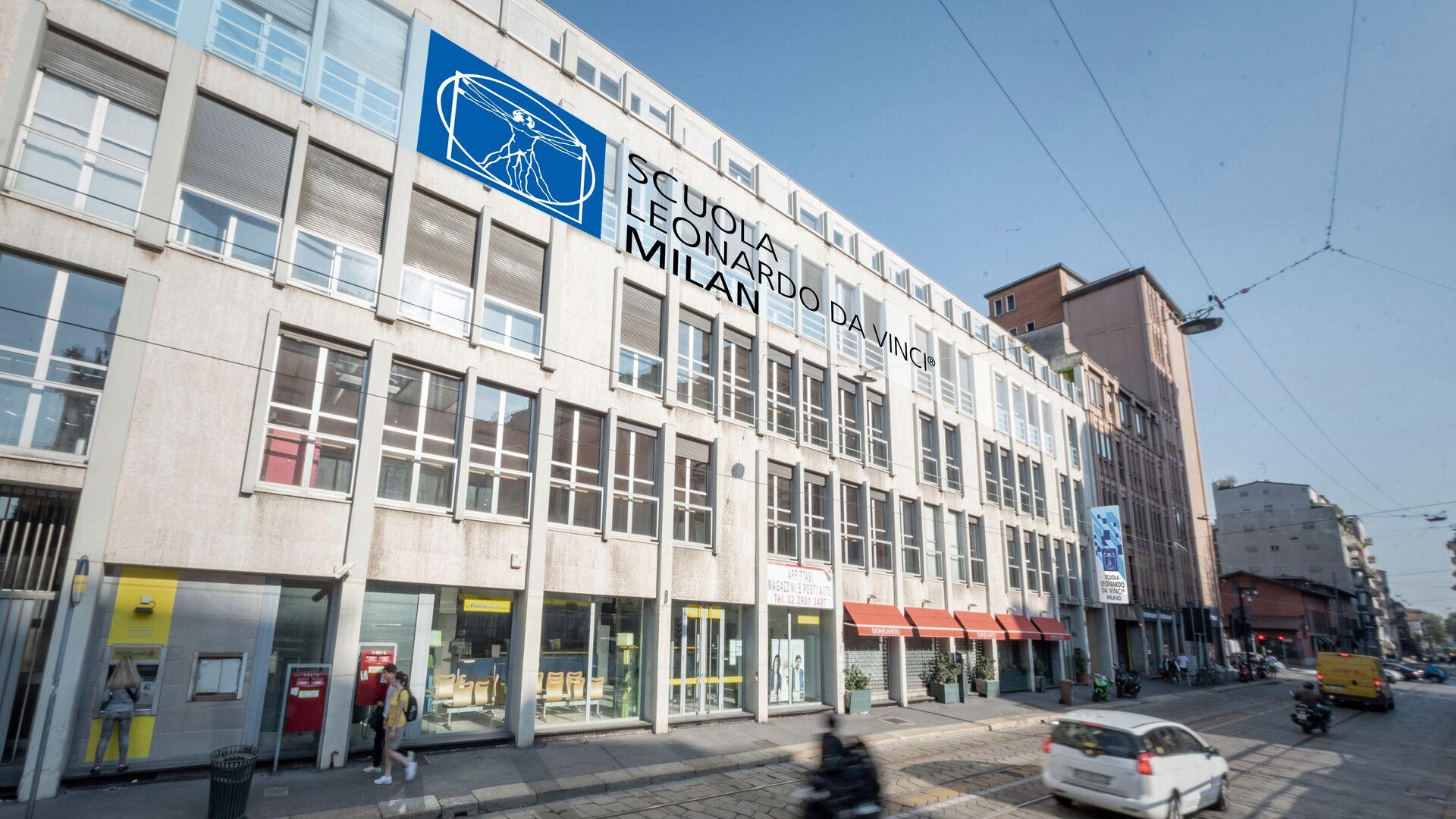 Séjour linguistique Italie, Milan - Scuola Leonardo da Vinci Milano - École