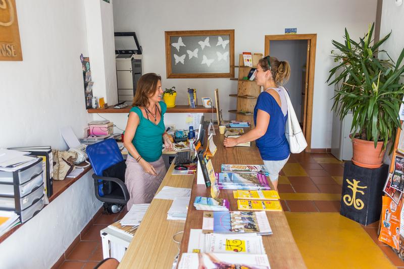 Séjour linguistique Espagne, Tarifa - Escuela Hispalense Tarifa - Réception
