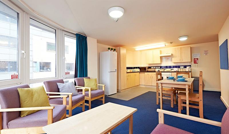 Sprachaufenthalt England, Leeds - CES Leeds - Accommodation - Residenz Campus Living - Küche
