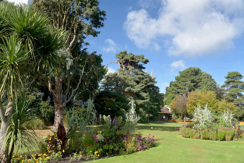 Séjour linguistique Angleterre, Bournemouth - Jardin