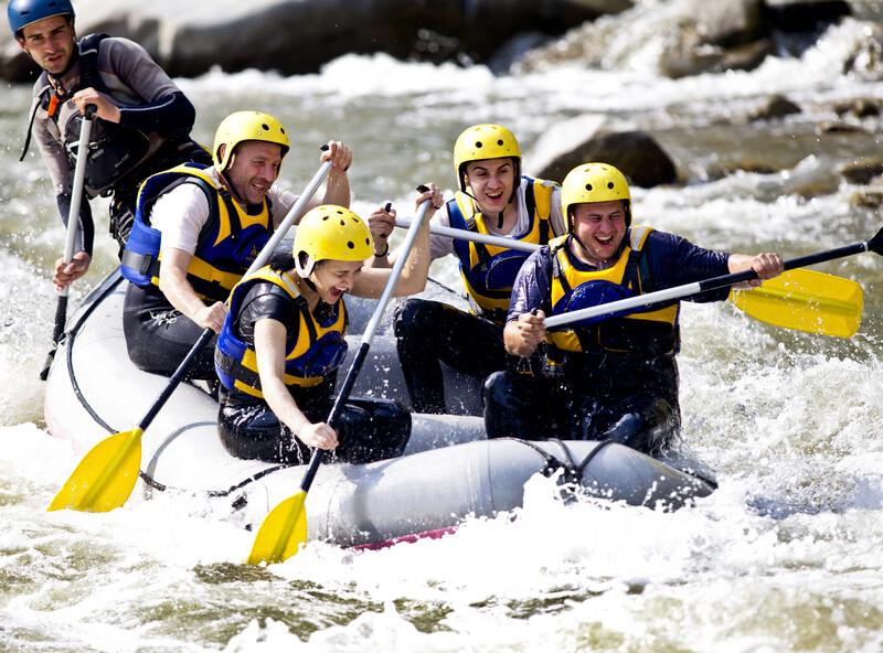 Séjour linguistique Nouvelle-Zélande, Queenstown - River Rafting