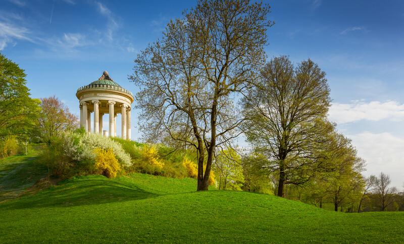 Sprachaufenthalt Deutschland, München - Englischer Garten