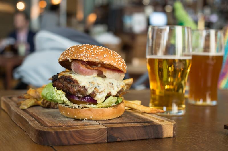 Sprachaufenthalt  England, Oxford - Atomic Burger
