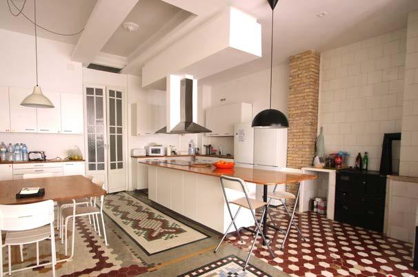 Sprachaufenthalt Spanien, Valencia - International House Valencia - Accommodation - Residenz Gran Via - Küche