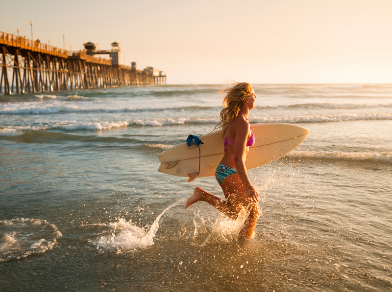 Séjour linguistique États-Unis, San Diego - Surf