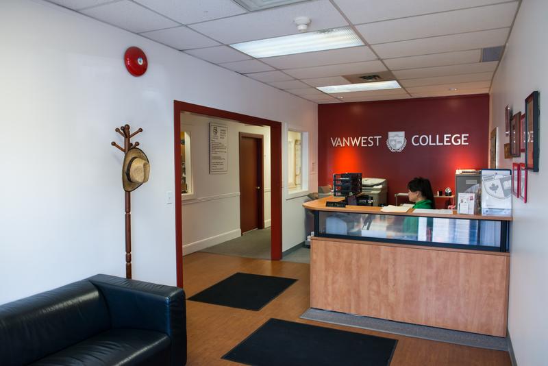 Séjour linguistique Canada, Kelowna - VanWest College Kelowna – Réception